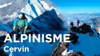 Cervin Cervino Matterhorn Arête du Lion Arête Sud-Ouest Breuil Cervinia alpinisme montagne escalade
