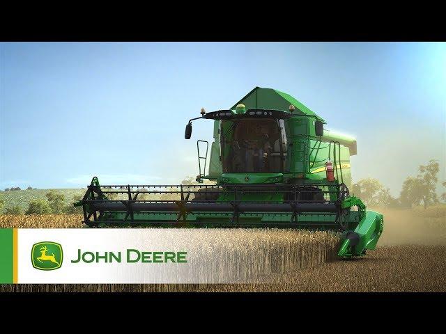 John Deere - Moissonneuses-batteuses Série W - Récolte