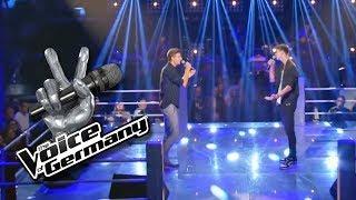 Leonard Cohen - Hallelujah | Felix vs. Benedikt | The Voice of Germany 2017 | Battles