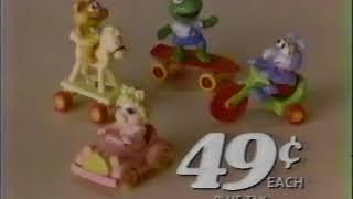 McDonalds Muppet Babies Toys (1986)