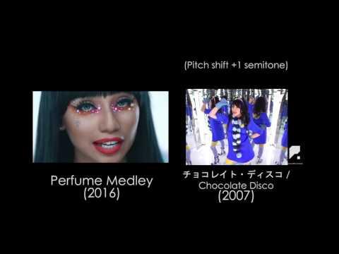 UPDATE Pentatonix - Perfume Medley (Side By Side)