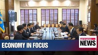President Moon to focus efforts on breathing life into flagging S. Korean economy