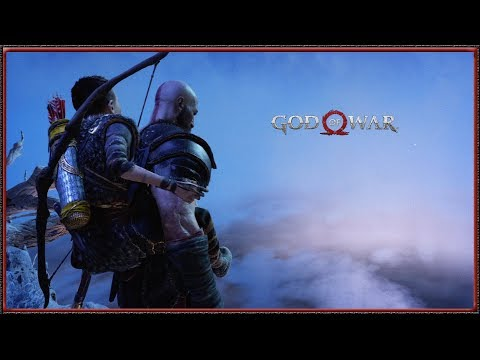 God of War - What happens if you jump from the World Tree (HD)