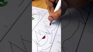 Drawing bakugo eyes🔥