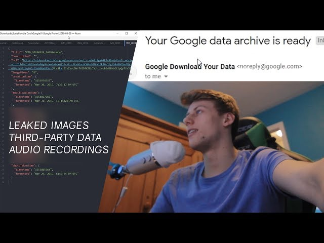 Downloading My Private Google Data, this is what I found