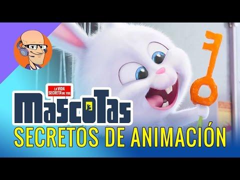 Película Mascotas SECRETOS de Animación 3D