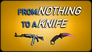 One of Clicky Crisp's most viewed videos: CS:GO - From Nothing To A Knife