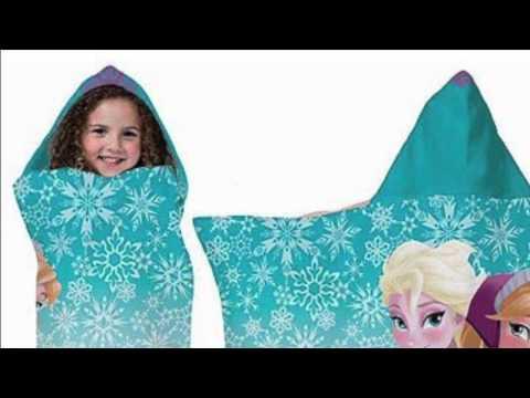 Disney Frozen Hooded Towel Wrap Review