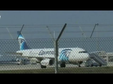 Hijacked EgyptAir plane lands in Cyprus