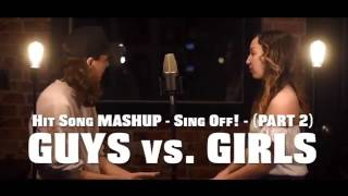 Hit Song Mashup - SING OFF - PART 2 - (feat. Raina Harten