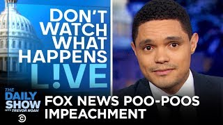Fox News on Impeachment Hearings: Where's the Sex? | The Daily Show