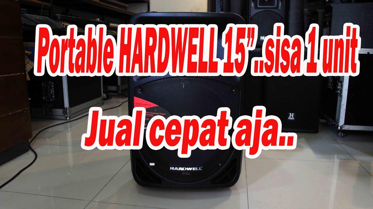 Download Speaker portable HARDWELL   Angkasa Pro Sound System   Jual Beli Alat Sound System Bekas  