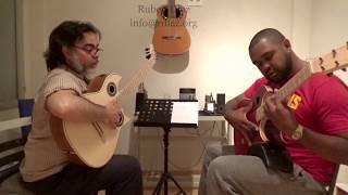 """Composition Lesson n.7 tangos /modern flamenco guitar/ """"Malagueta"""" (R.Johnson) Ruben Diaz"""