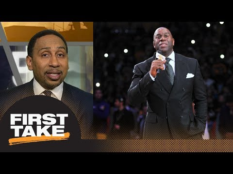 Stephen A.: Rumors of Magic Johnson looking at David Fizdale as new Lakers coach | First Take | ESPN