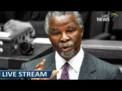 Thabo Mbeki reacts to Ramaphosa