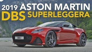 2019 Aston Martin DBS Superleggera Review - First Drive