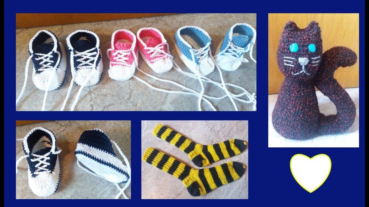 Häkeln Stricken Babyschuhe Socken Amigurumi Topflappen
