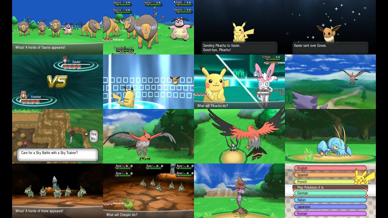 pokemon x y decrypted rom download