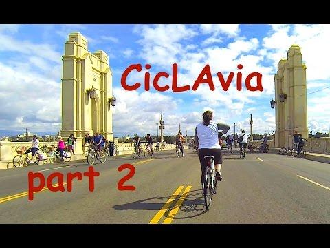 CicLAvia DTLA to East LA Mariachi 2016 - GoPro5 4K