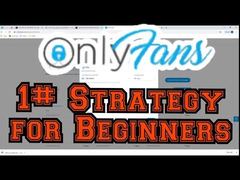 Onlyfans Best Strategy For Beginners