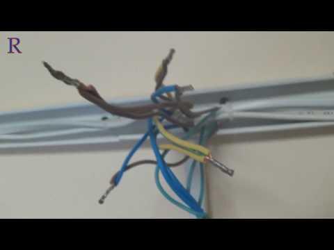 Электро проводка в коробе (офисный вариант) стройка