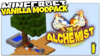 Minecraft | THE ALCHEMIST #1 | Skyblock Vanilla Mod Pack (Minecraft Vanilla Mods)