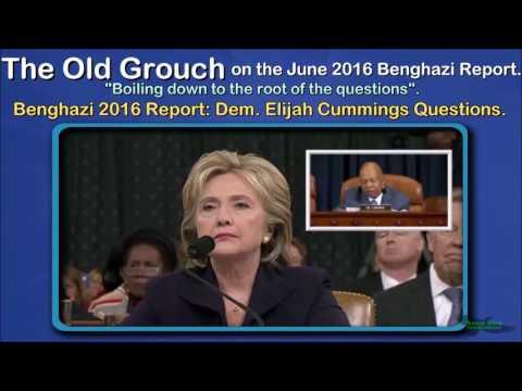 Benghazi 2016 Report: Dem. Elijah Cummings Questions. OGB 25 of 41