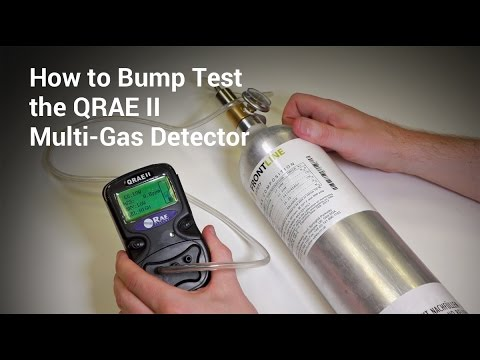 qrae ii multi gas detector how to perform a bump test youtube. Black Bedroom Furniture Sets. Home Design Ideas