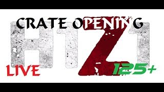 H1Z1 Crate Opening   125+ Chaos & Arsenal Crates & Gameplay   PS4   LIVE Stream