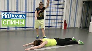 Упражнения от сколиоза  укрепляем мышцы спины