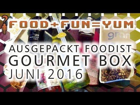 Food+Fun=Yum - Foodist Gourmet Box Juni 2016 ausgepackt! - Deutsch