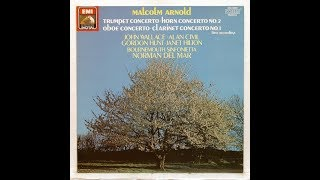 Malcolm Arnold : Concerto No. 2 for horn and String Orchestra Op. 58 (1956)