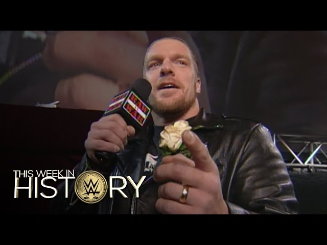Triple H ruins Stephanie McMahon and Test's wedding: This Week in WWE History, Dec. 1, 2016