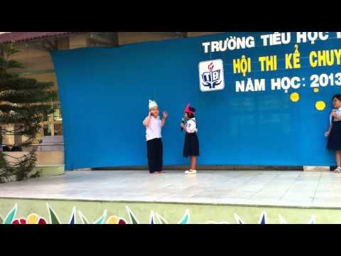 Hội thi kể chuyện sách - Trường Tiểu học Trương Định - Lớp 1/4 - 2014