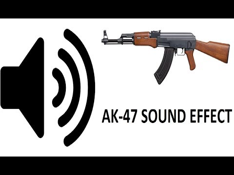 CS:GO AK-47 Sound Effect