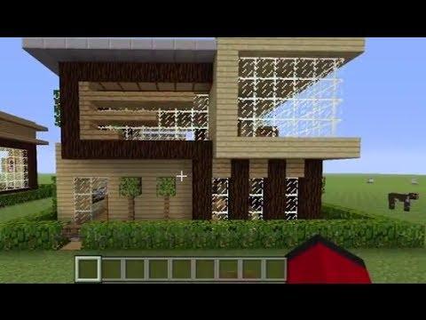 Minecraft haus moderne haus lernprogramm doovi for Craftingpat modernes redstone haus