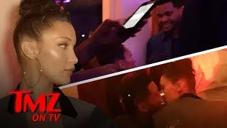 Bella Tongues Down The Weeknd In Cannes!!! | TMZ TV