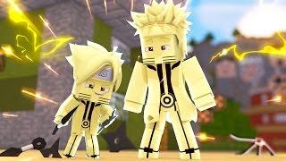 Minecraft: BORUTO - BORUTO E NARUTO MODO KYUUBI #26