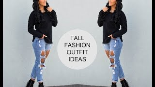 Fall Fashion Outfit Ideas  ♡ SabrinaTubic Thumbnail