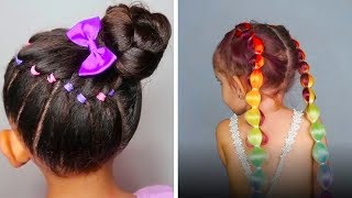 CUTE HAIRSTYLES FOR LITTLE GIRLS | BACK TO SCHOOL HAIRSTYLES thumbnail