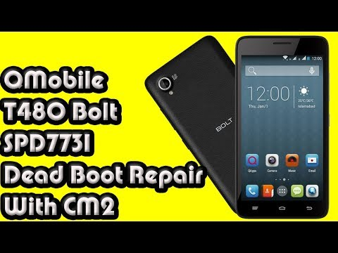 QMobile T480 Bolt SPD7731 Dead Boot Repair With CM2 - YouTube