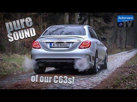 2018 Mercedes-AMG C63s - Pure SOUND (60FPS)