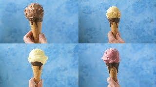 Boozy Blender Ice Cream 4 Ways