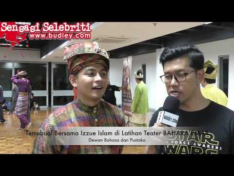 Izzue Islam di Latihan Teater BAHARA EMAS, Dewan Bahasa & Pustaka