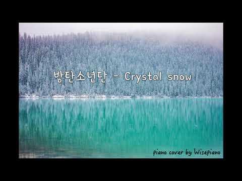 방탄소년단(BTS) - Crystal Snow Piano Cover