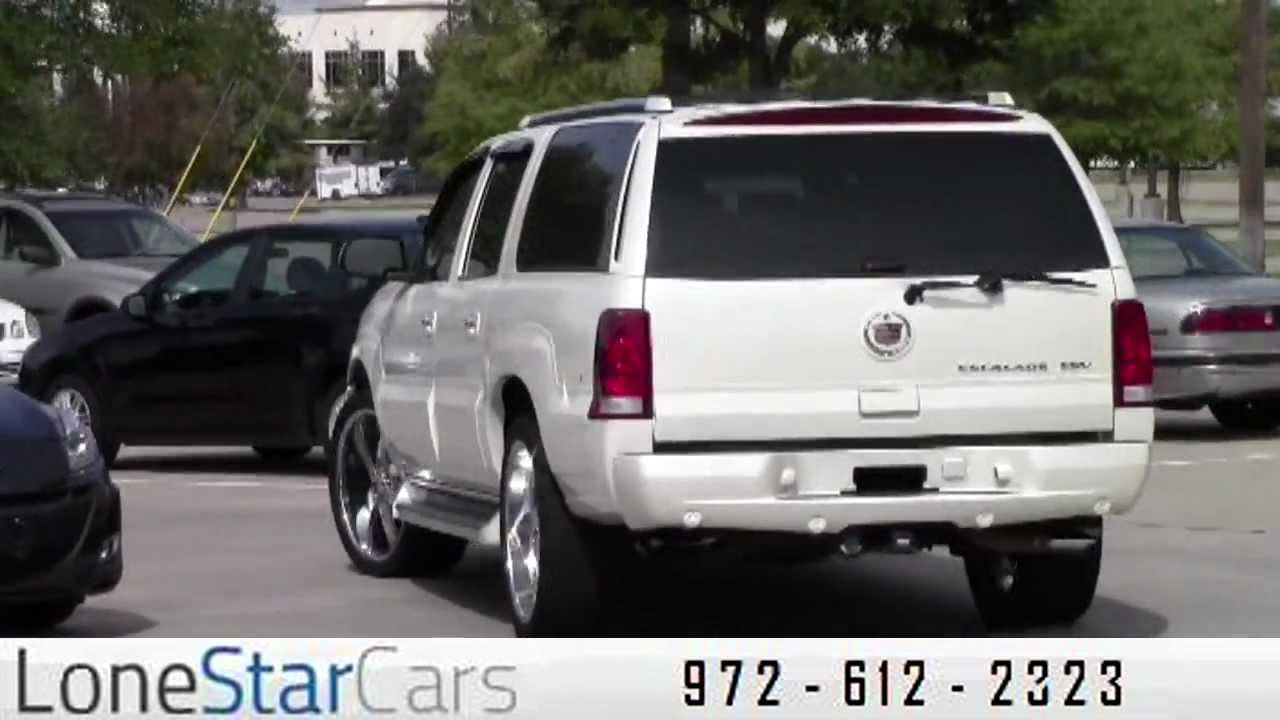 2005 Cadillac Escalade Esv Used Cars Plano Tx Youtube