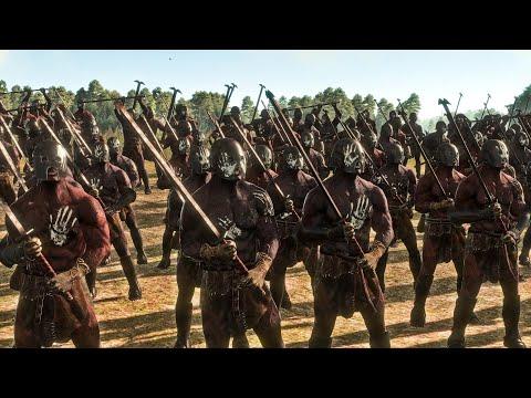 Rohan Vs Uruk Hai of Isengard | 12,000 Unit cinematic Siege of Rohan | Total War Rise Of Mordor |