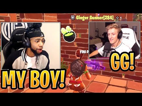 Daequan Reacts to Tfue Getting DESTROYED by His Best Friend 'Yanni'! - Fortnite Funny Moments
