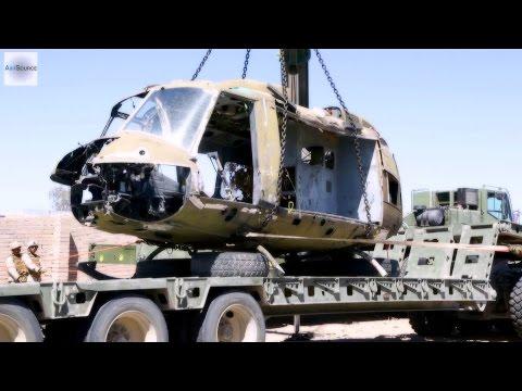 U.S. Marine Aviation Ground Support - Aircraft Salvage
