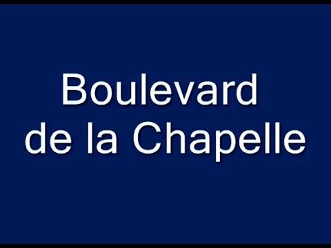 Boulevard de la Chapelle Paris Arrondissements  10e, 18e